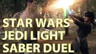 Star Wars - Light Saber Jedi Duel Teaser (15 sec)
