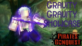 Roblox Pirate Conquest Gravity Devil Fruit Showcasing| John Zacarias 2019
