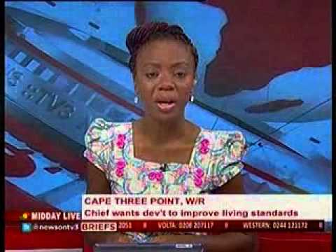 Midday Live - Residents of Cape 3 point blame plights on Oil find - 20/5/2014
