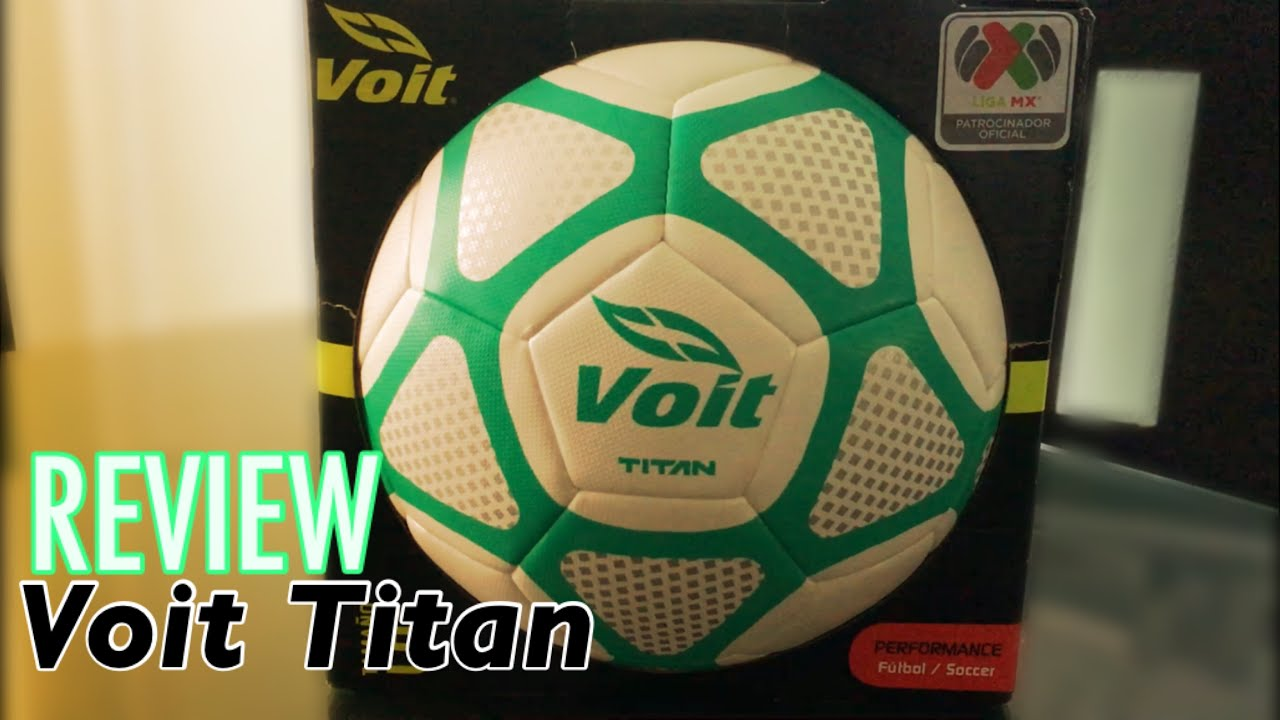 REVIEW ⭐ Balón Voit Titán. Fútbol Audaz 1b1ee18cf9f3d