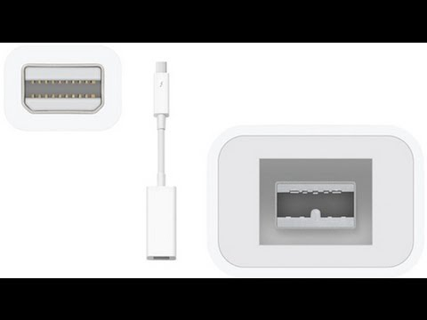Apple Thunderbolt to Firewire 800 Unboxing - YouTube