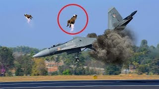 Pilot Ejects From Fighter Jets at the Last Moment & DANGEROUS MOMENTS