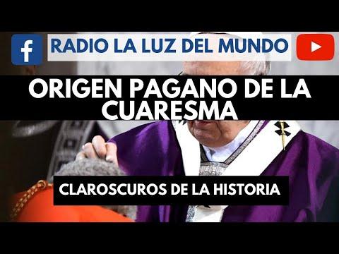 El origen pagano