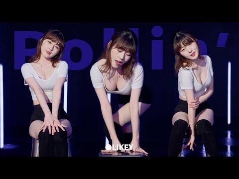 「人気K-POPアイドルが地方ダンスイベントでおっぱい見え ...