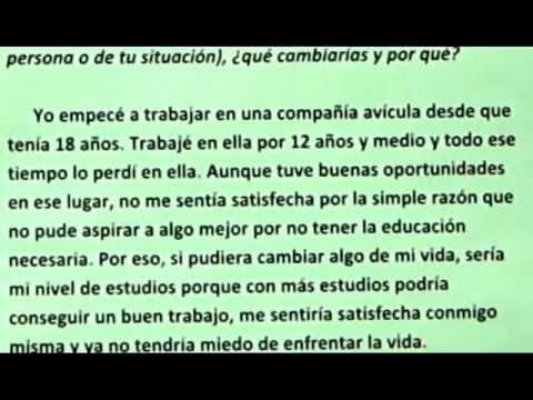essays in spanish co ged in spanish essay writing lesson part i
