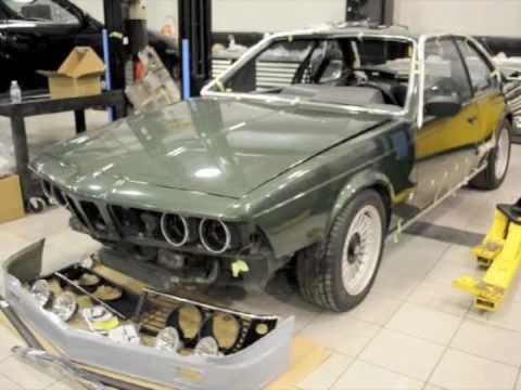 1982 bmw alpina b7s turbo coupe restoration pt 3 youtube. Black Bedroom Furniture Sets. Home Design Ideas