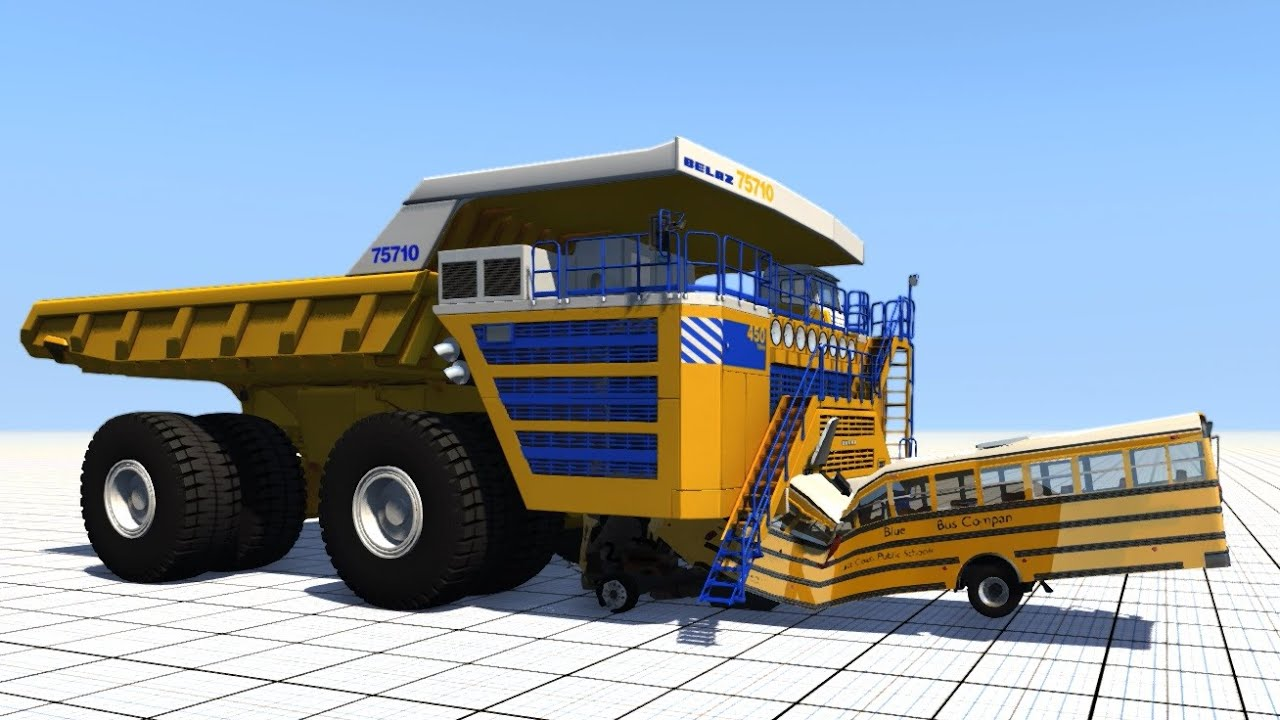 BeamNG.drive - Belaz Takes On All Challengers!