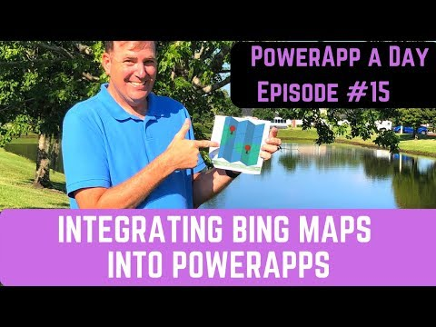 Integrating Bing Maps Into PowerApps And Using The GPS