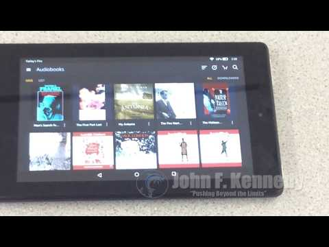 How to login to the internet on Amazon Fire Tablet