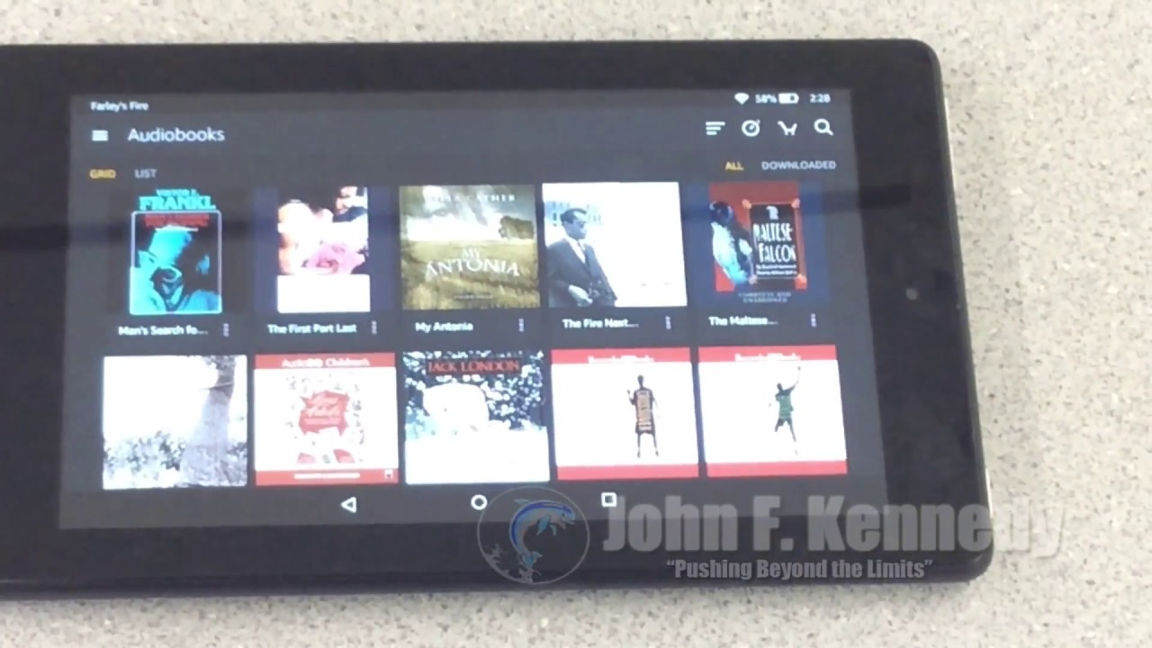 How To Login To The Internet On Amazon Fire Tablet Youtube