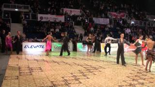 Dance Masters 2011 - Idsf International Adult Open Latin - Round 1 - Samba 1
