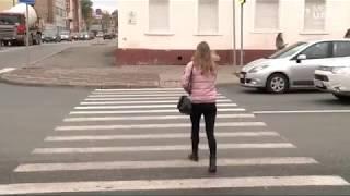 """В Череповце штрафовали пешеходов, которые переходят по """"зебре"""" не по правилам"""