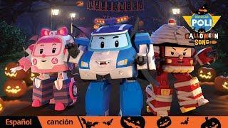 🎃Halloween🎃│🎵Happy Halloween   Canciones en inglés   Robocar POLI TV español
