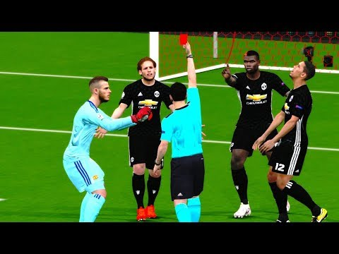 Manchester United vs Sevilla | UEFA Champions League 2017/18 Gameplay