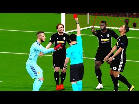 Manchester United vs Sevilla | UEFA Champions League 2018 Gameplay