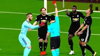 Download Video Manchester United vs Sevilla | UEFA Champions League 2017/18 Gameplay MP3 3GP MP4