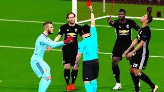 Download Video Manchester United vs Sevilla | UEFA Champions League 2018 Gameplay MP3 3GP MP4