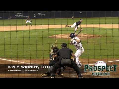 Kyle Wright Prospect Video, RHP, Vanderbilt University #mlbdraft