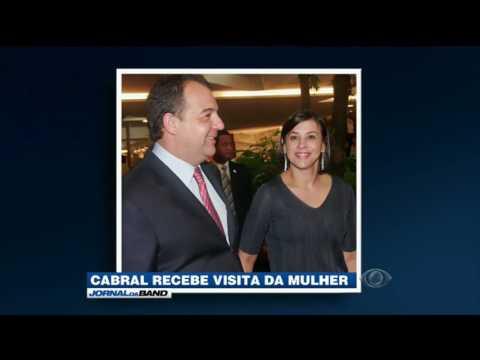 MP deve julgar pedido de prisão da mulher de Cabral