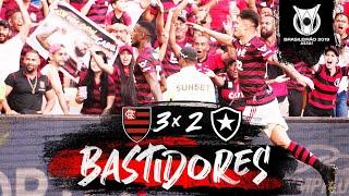 Flamengo 3 x 2 Botafogo - Bastidores