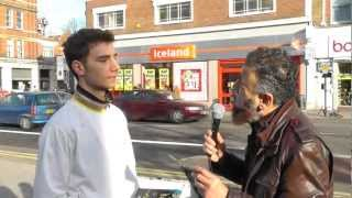 Orthodox Christian Becomes Muslim, Street Dawah- 'LIVE'