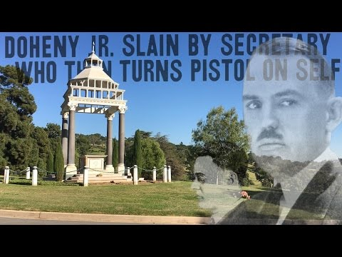 Ghosts of Greystone Mansion: The Curious Death and Burial of Ned Doheny