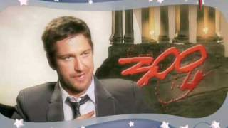 300 Sexy Secrets with Gerard Butler & Carrie Keagan uncensored