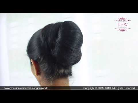 asmr-layered-hair-bun-|-how-to-make-prefect-knot-hair-bun|-diy-long-hair-knot-bun-for-long-beginners