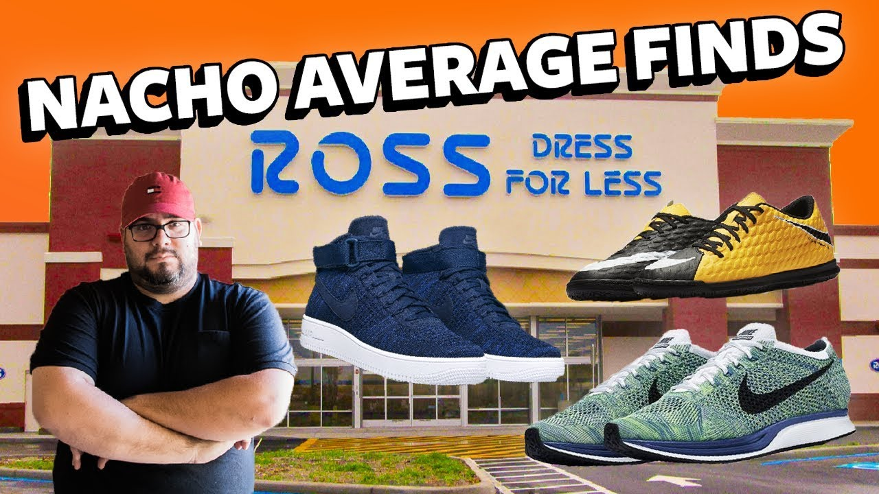 Ross Finds *In Store* ULTRA Flyknit Air Force 1, Flyknit Race Multi Color, Hypervenom X MORE!
