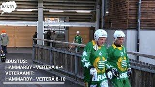 Veiterä-Veiterän matka Tukholmaan Hammarby Bandy