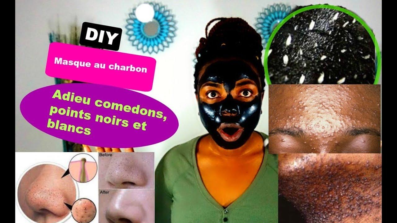 masque anti point noir au charbon