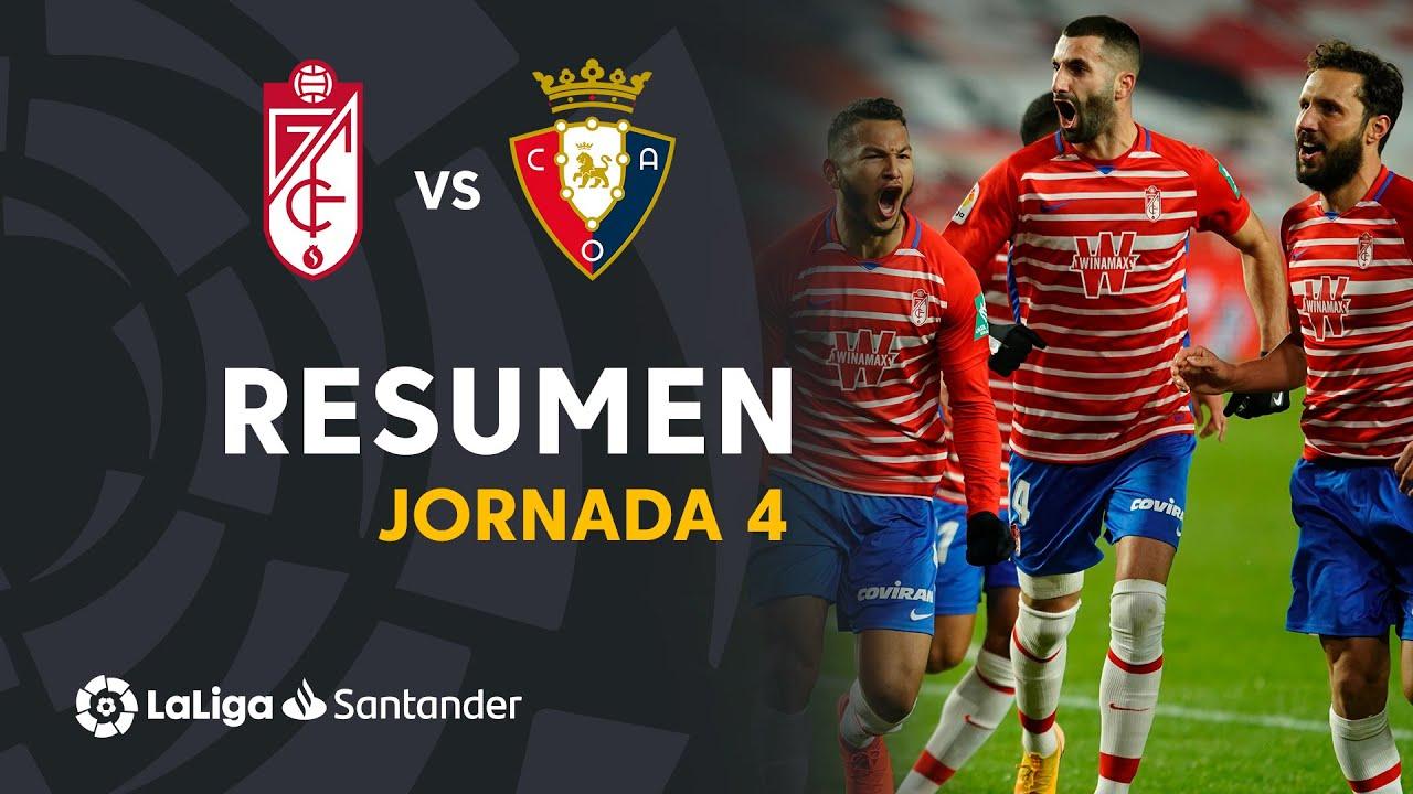 Гранада  2-0  Осасуна видео