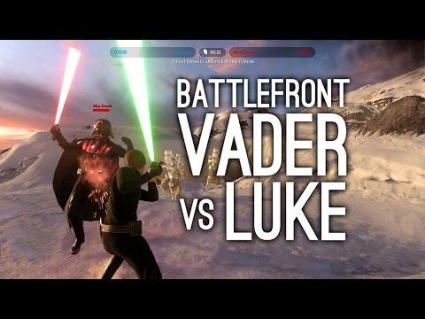 Star Wars Battlefront: Darth Vader vs Luke Skywalker