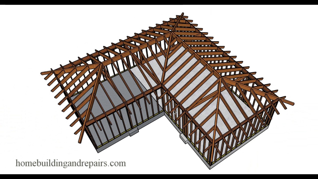 Ideas For Vaulted Roof Framing With Hips And Valleys For A