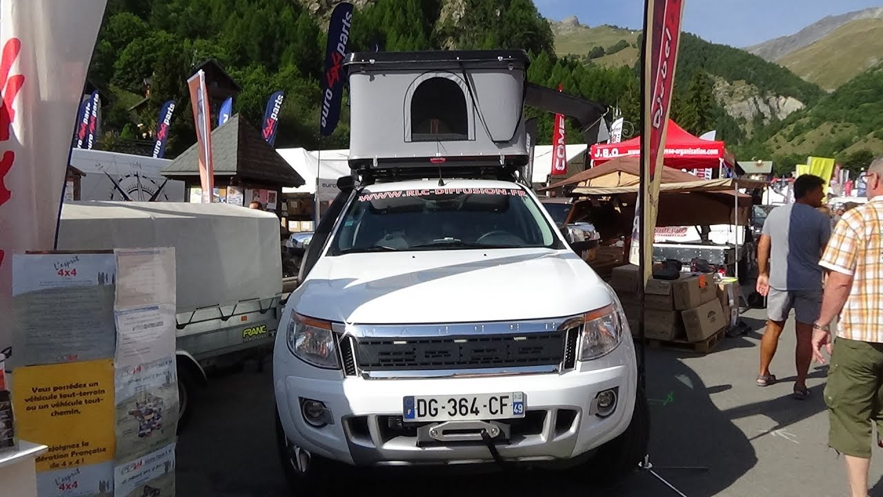 2017 Ford Ranger Roof Tent Coque Djebel - Exterior and Interior - Foire 4x4 Valloire 2017 & 2017 Ford Ranger Roof Tent Coque Djebel - Exterior and Interior ...