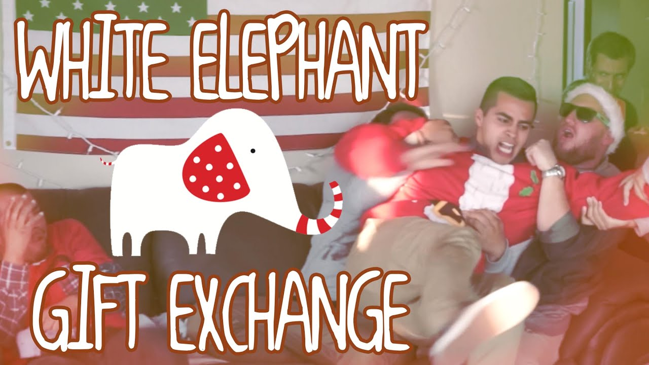 White elephant gift exchange david lopez and josh darnit youtube negle Choice Image