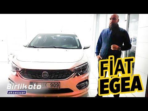 Fiat Egea // Body Kit, Krom Aksesuar, Lumar Cam Filmi