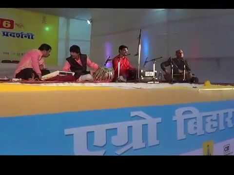 My performance in krishi mela Bihar, Anjani Kumar Gupta Flute