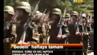 Recep Tayyip Erdoğan'ın Bedelli Askerlik açıklamaları (öncesi ve sonrası)