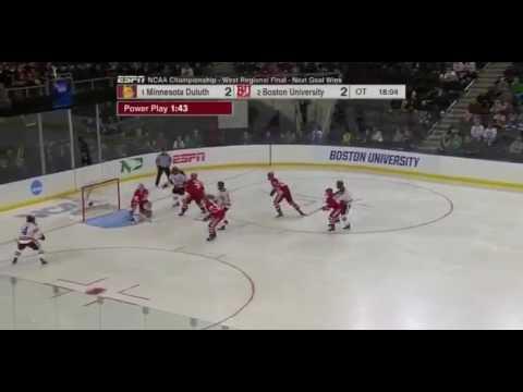 Michigan defeats Boston University, advances to hockey's Frozen Four