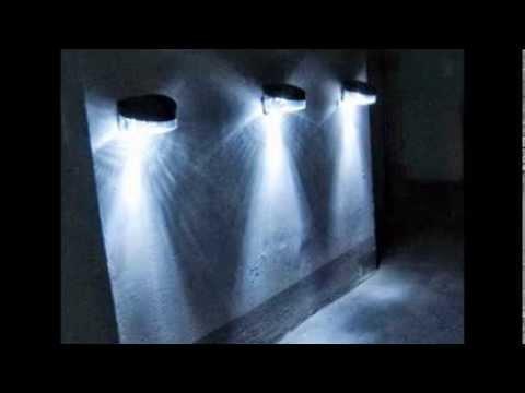 Solar wall lamp garden mudahjualan segera youtube mozeypictures Choice Image