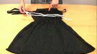 пошив платья в экспресс стиле(Подписывайтесь на канал! из данного видео узнать можно сшить красивое летнее платье из доступных материало..., 2012-11-15T06:28:35.000Z)