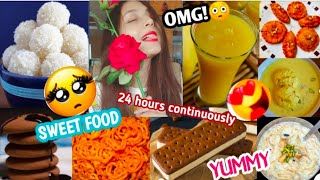 """I Only Ate """"SWEET FOOD"""" Continuously For 24 HOURS