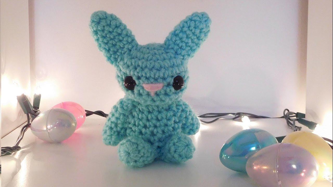 Amigurumi Rabbit Tutorial : Amigurumi crochet bunny tutorial youtube