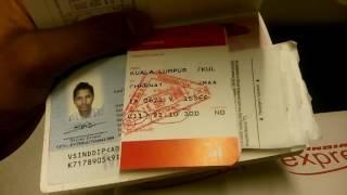 Flight IX 0621 | In flight review | Kuala Lumpur to Chennai | Air India Express