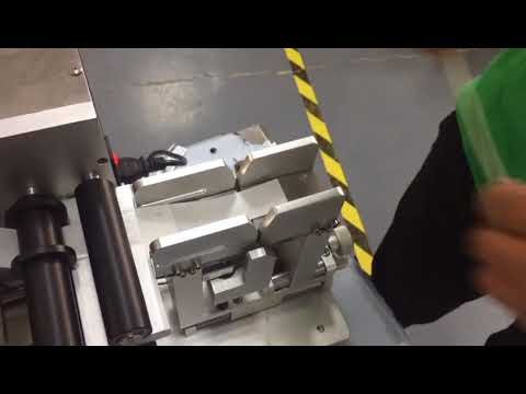 Electrical type wire flag labeling machine test video