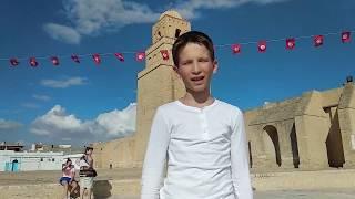"""Путешествие в пустыню Сахара. Часть 8 - декорации фильма """"Звездные войны"""" и город Керуан (перезалив)"""