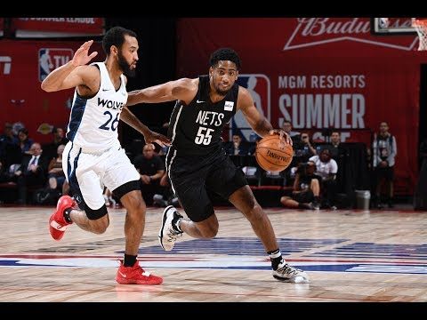Brooklyn Nets vs. Minnesota Timberwolves - Summer League 2019 Semifinal - Full Game Highlights