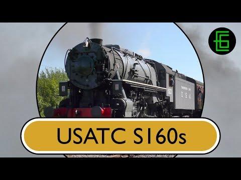STEAM LOCOS IN PROFILE: Volume Three DVD Sample - USATC S160s