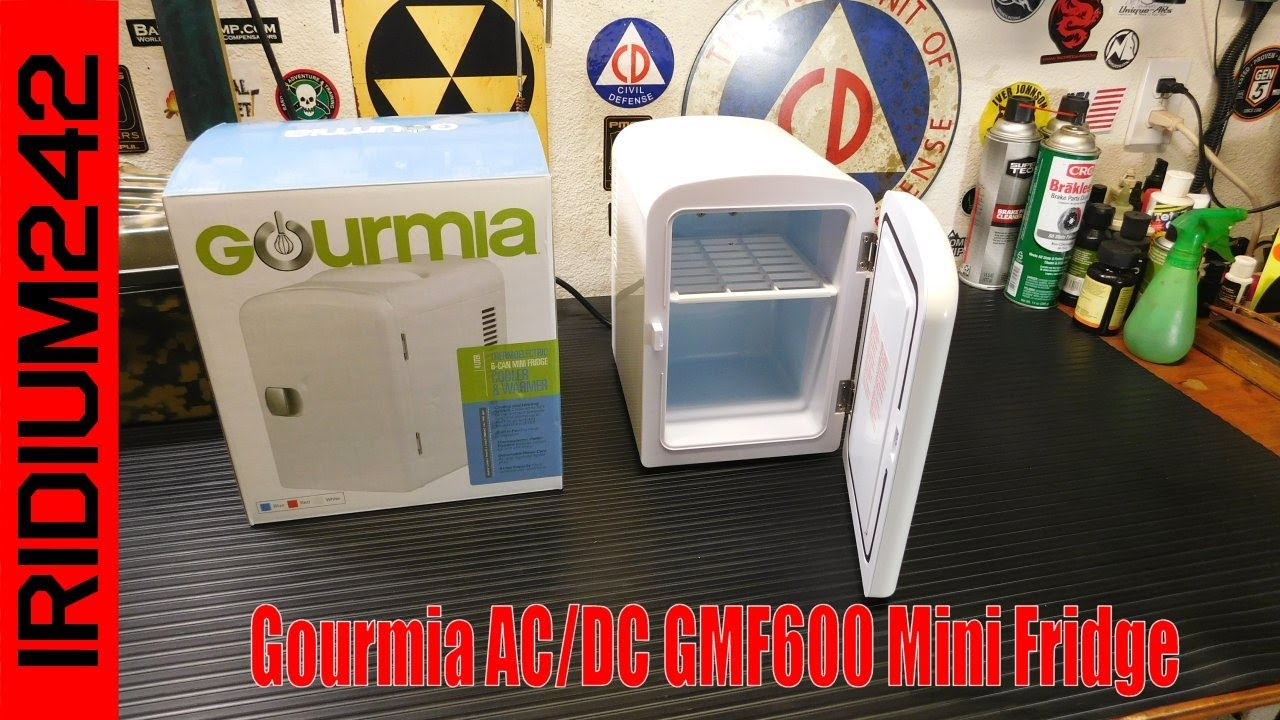 Prepping Gear:  Gourmia AC/DC GMF600 Mini Fridge
